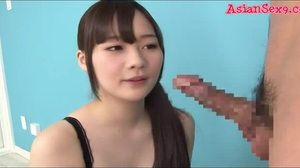 Sucking, Asian, Couple, Blowjob, Japanese, Teen, Young