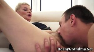 High definition, Granny, Grandmother, Blowjob, Hairy, Mature, Lick